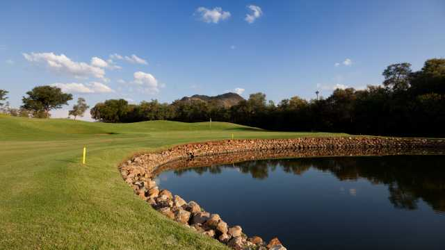 The Gary Player course at Sun City.