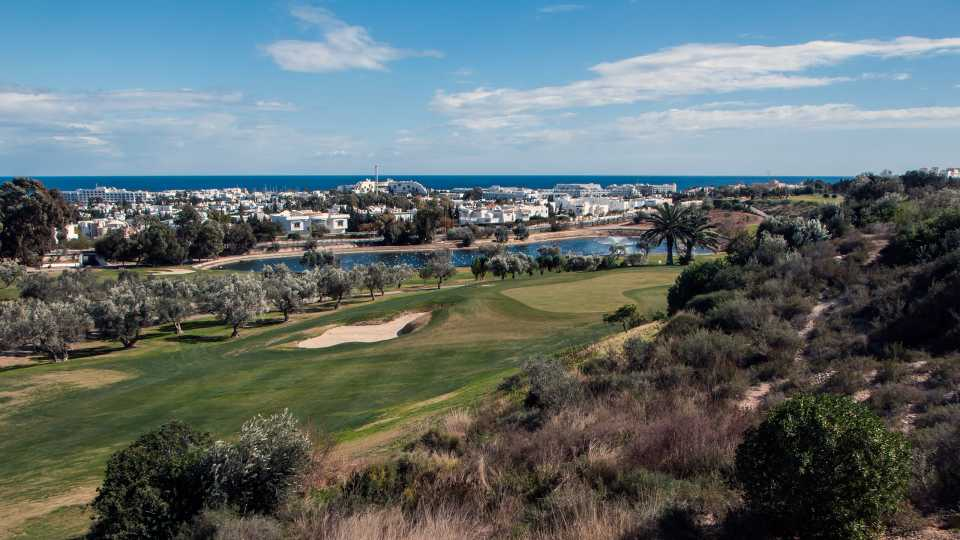 View from the Panorama Course at Golf El Kantoui.