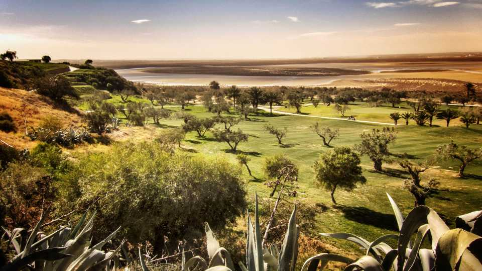 The Flamingo Golf Course is located on a hill with magnificient views of the surroundings.
