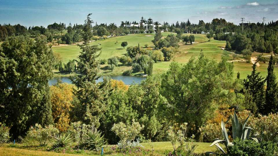 Yasmine Golf Club in Hammamet.
