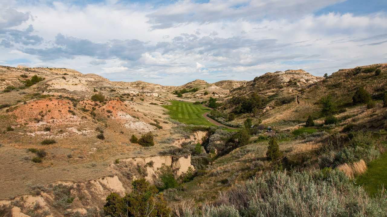 Bully Pulpit Golf Course, Medora, North Dakota, USA