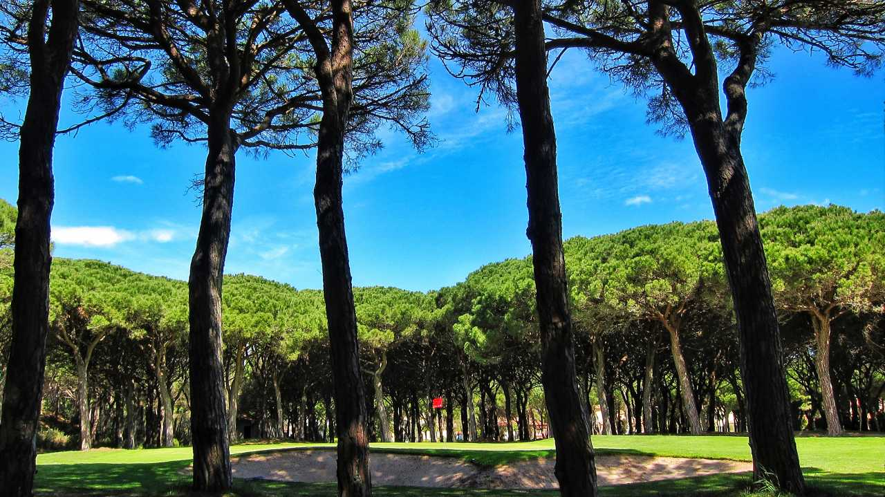 Golf Platja de Pals, Girona, Costa Brava, Spain