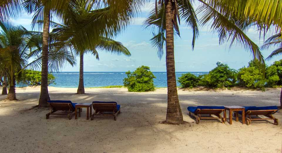 Vipingo has a private beach with excellent snorkeling inside a coral reef.