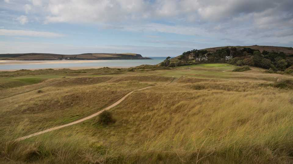 The 9th hole at St Enodoc's Church course.