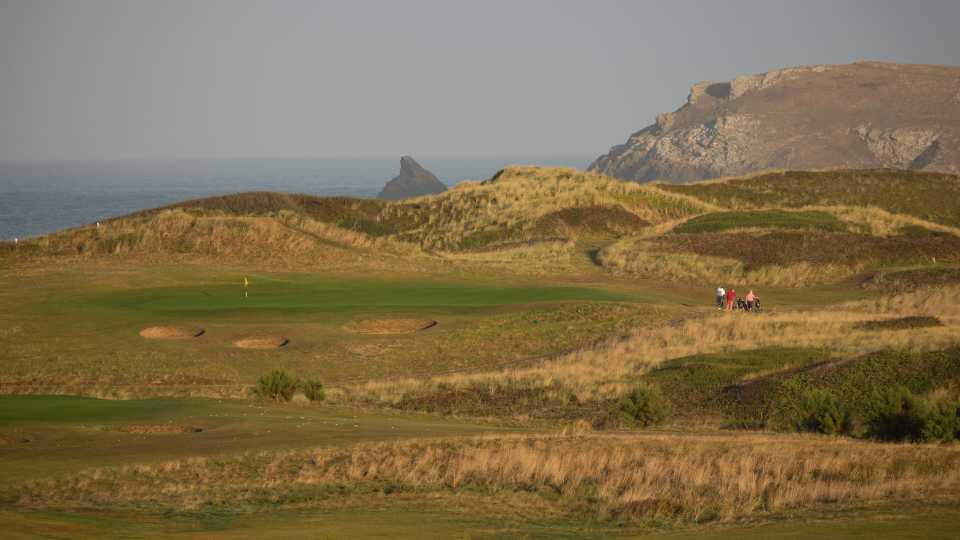 There are many memorable holes at Trevose - here the par three 3rd hole.