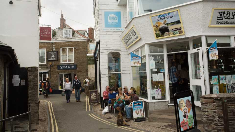 Padstow is a charming Cornish seaside town.