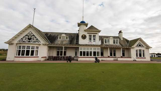 The clubhouse at Panmure.