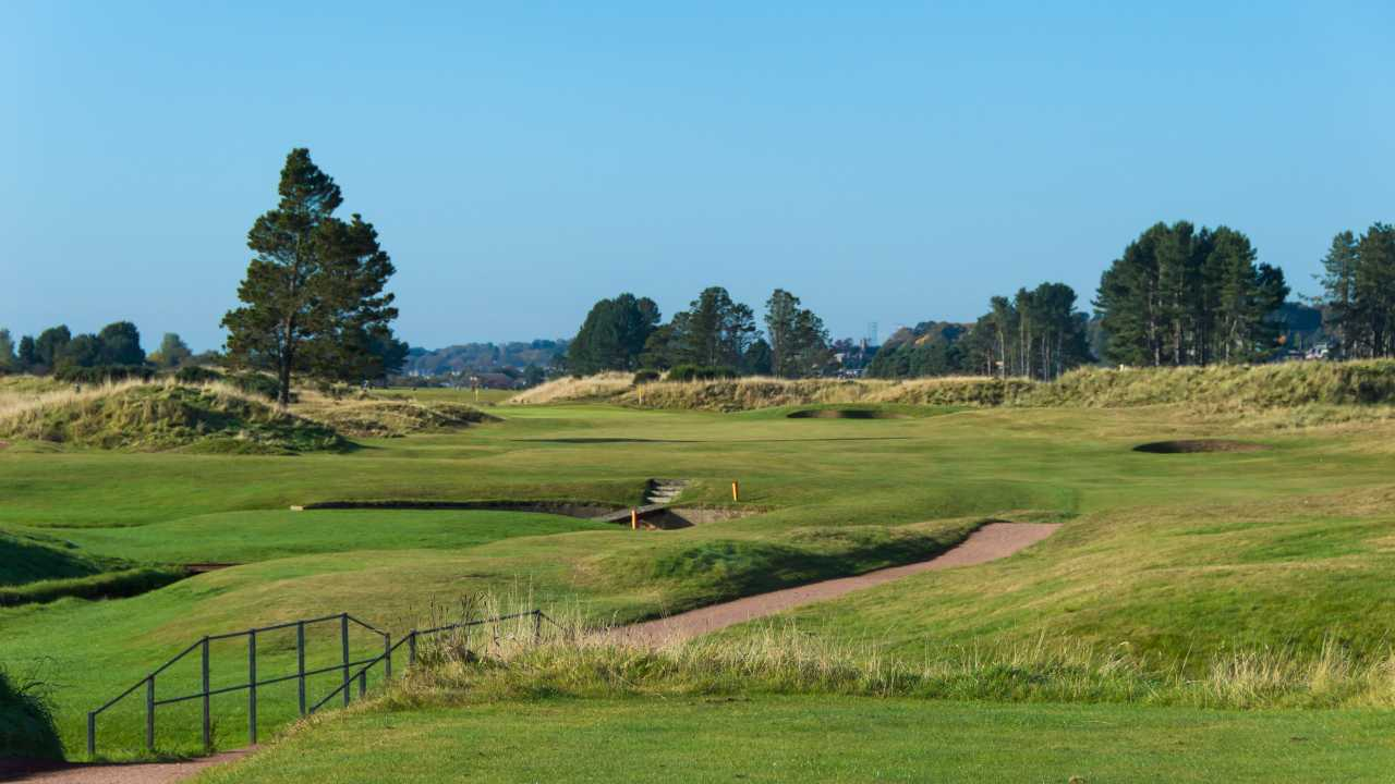 Monifieth Golf Links, Scotland