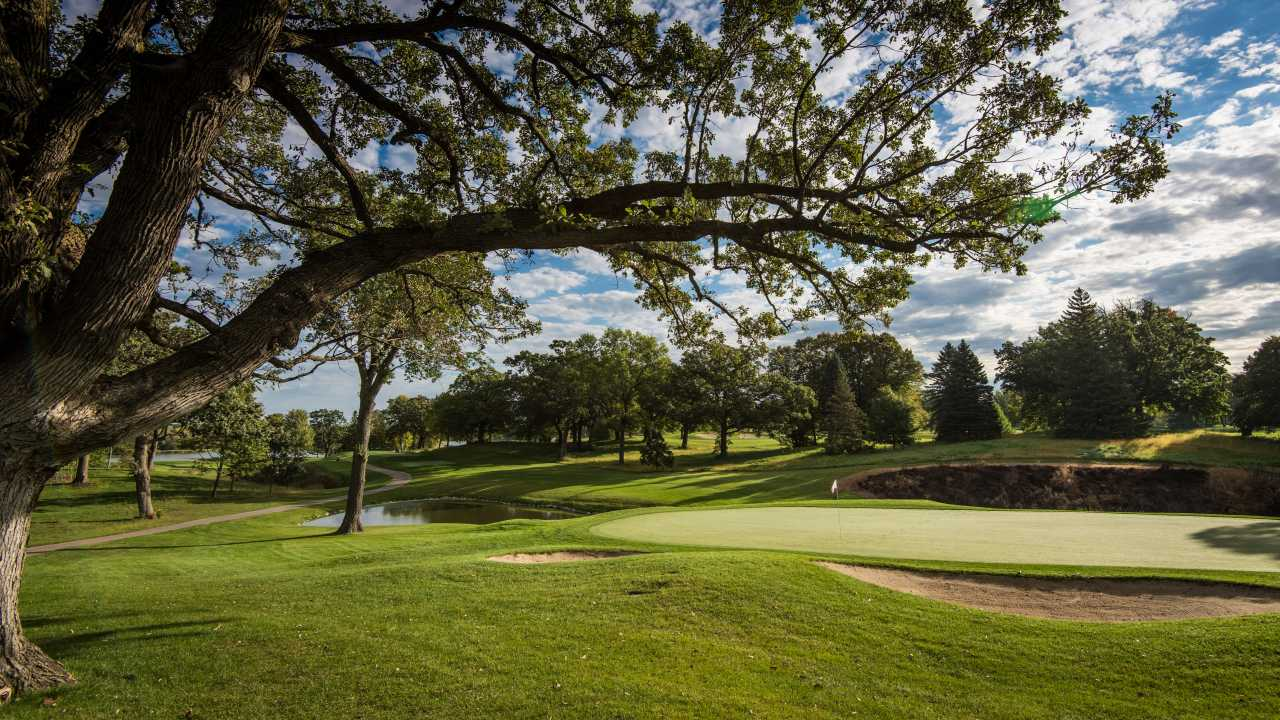 Hazeltine National Golf Club, Chaska, Minnesota, USA