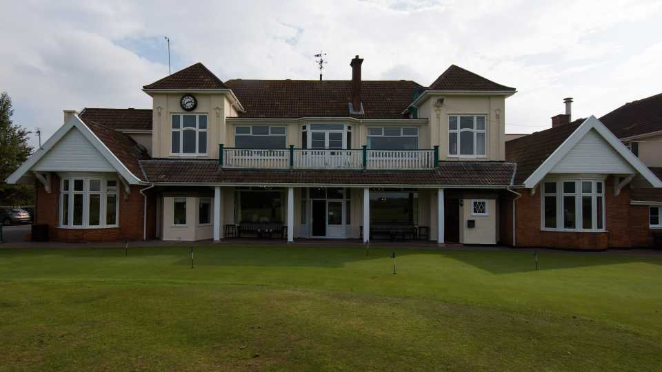 The clubhouse at Burnham & Berrow.