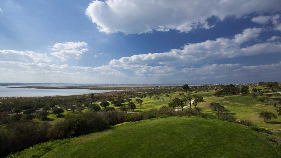 Flamingo Golf has some great views toward the coast.